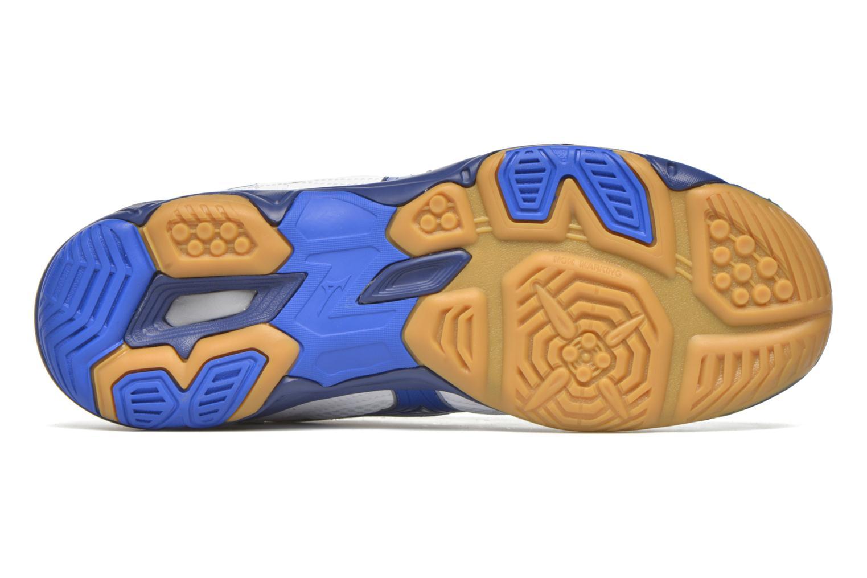 Chaussures de sport Mizuno Wave Twister 4 Blanc vue haut