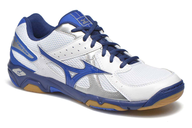 Chaussures de sport Mizuno Wave Twister 4 Blanc vue détail/paire