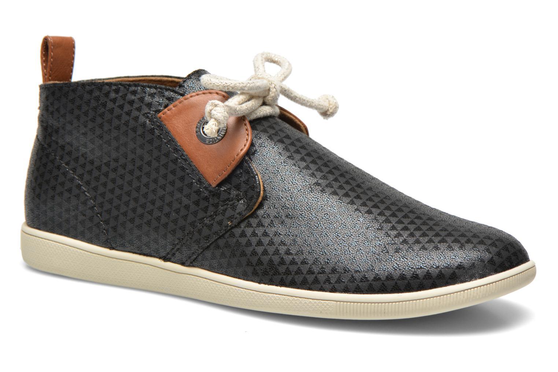 Chaussures à lacets Armistice Stone Mid Cut W Noir vue détail/paire
