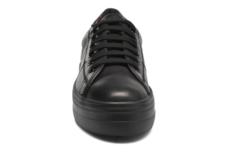 Sneaker No Name Plato Sneaker Nappa schwarz schuhe getragen