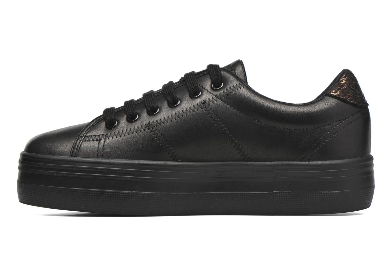 Sneaker No Name Plato Sneaker Nappa schwarz ansicht von vorne
