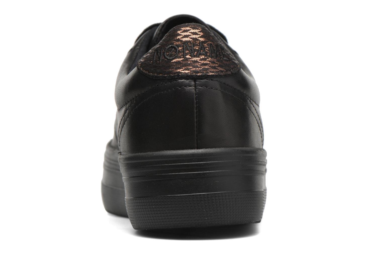 Sneaker No Name Plato Sneaker Nappa schwarz ansicht von rechts