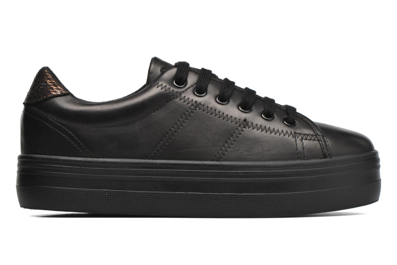 Sneaker No Name Plato Sneaker Nappa schwarz ansicht von hinten