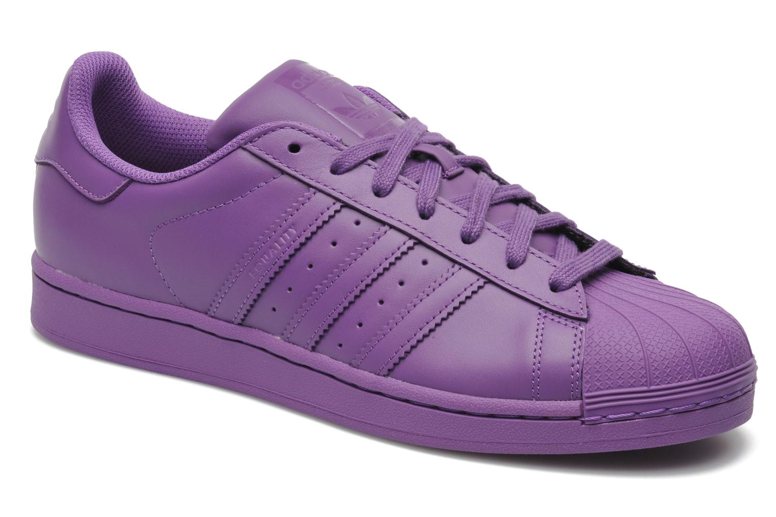 adidas superstar lilas