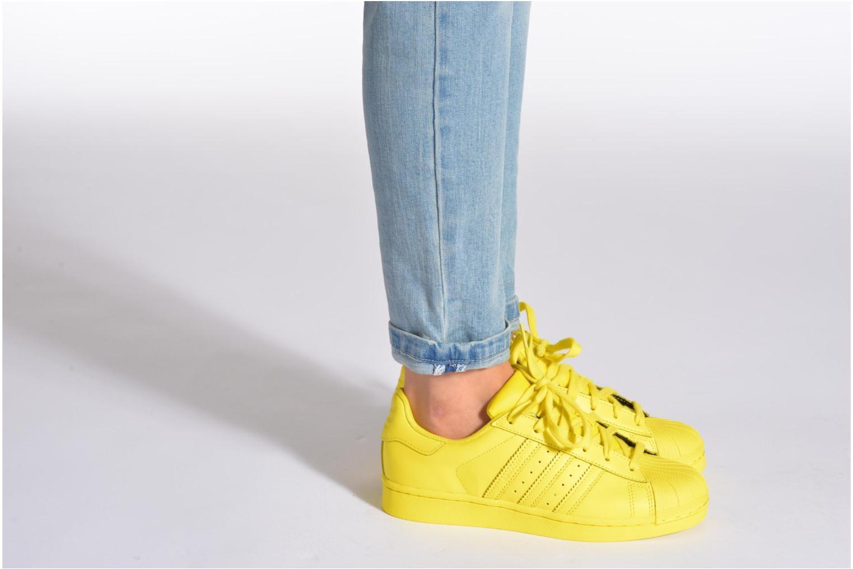 Superstar Supercolor W Bright yellow