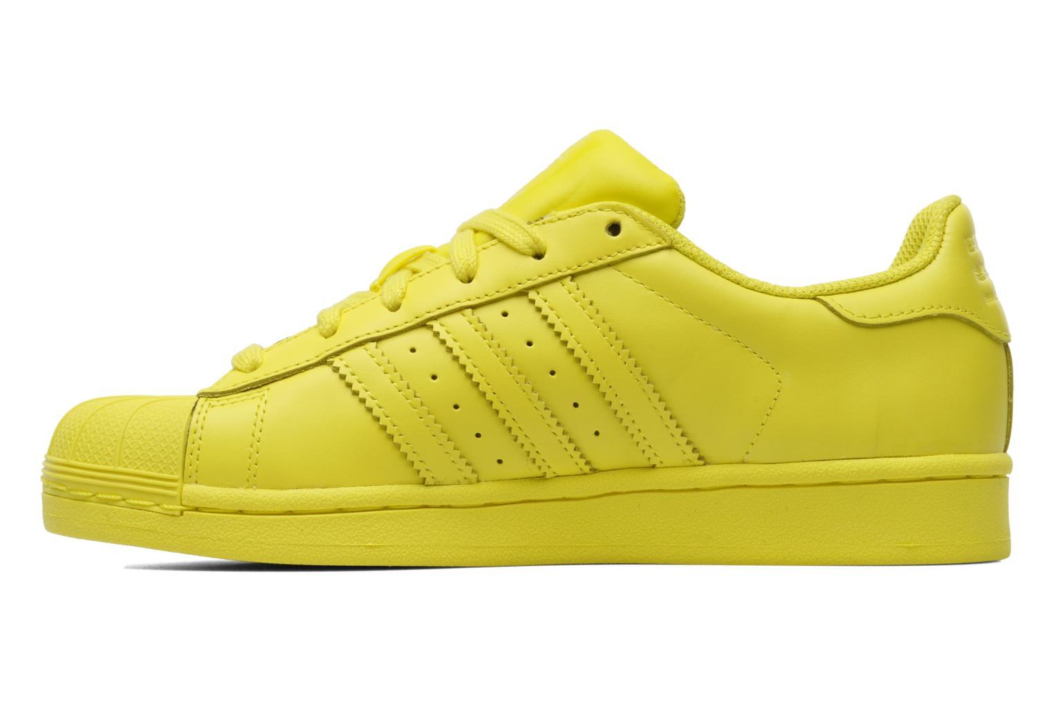Sneakers Adidas Originals Superstar Supercolor W Giallo immagine frontale