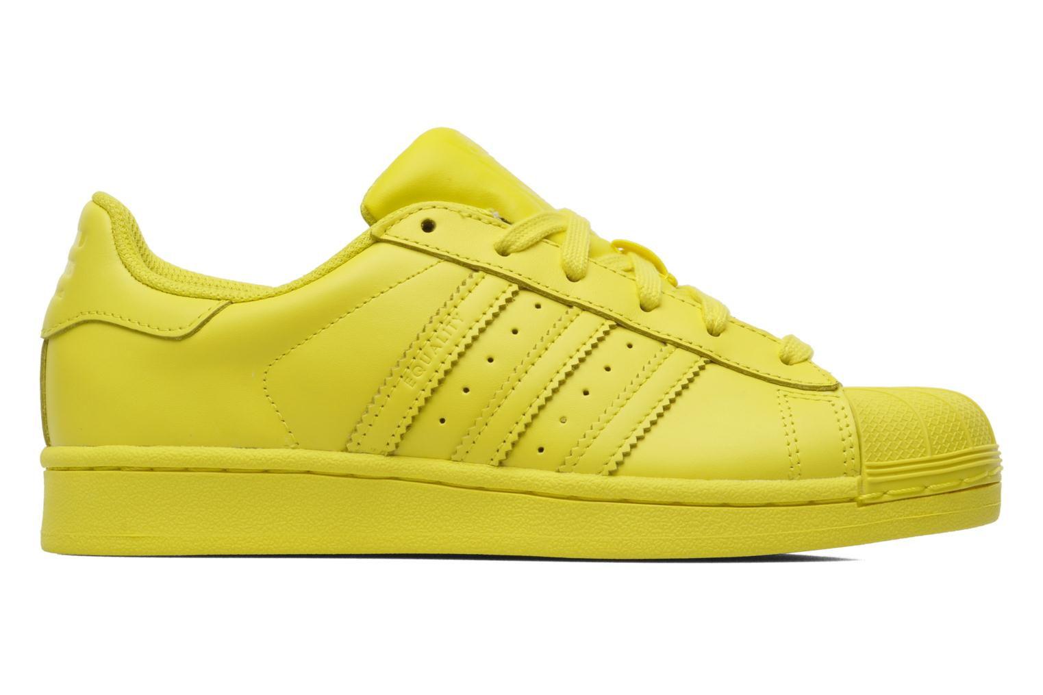Sneakers Adidas Originals Superstar Supercolor W Giallo immagine posteriore