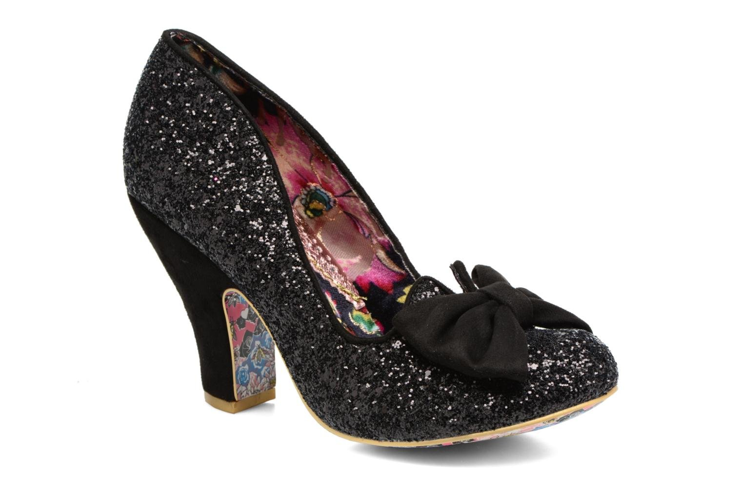 Escarpins Irregular Choice Nick of Time Noir vue détail/paire