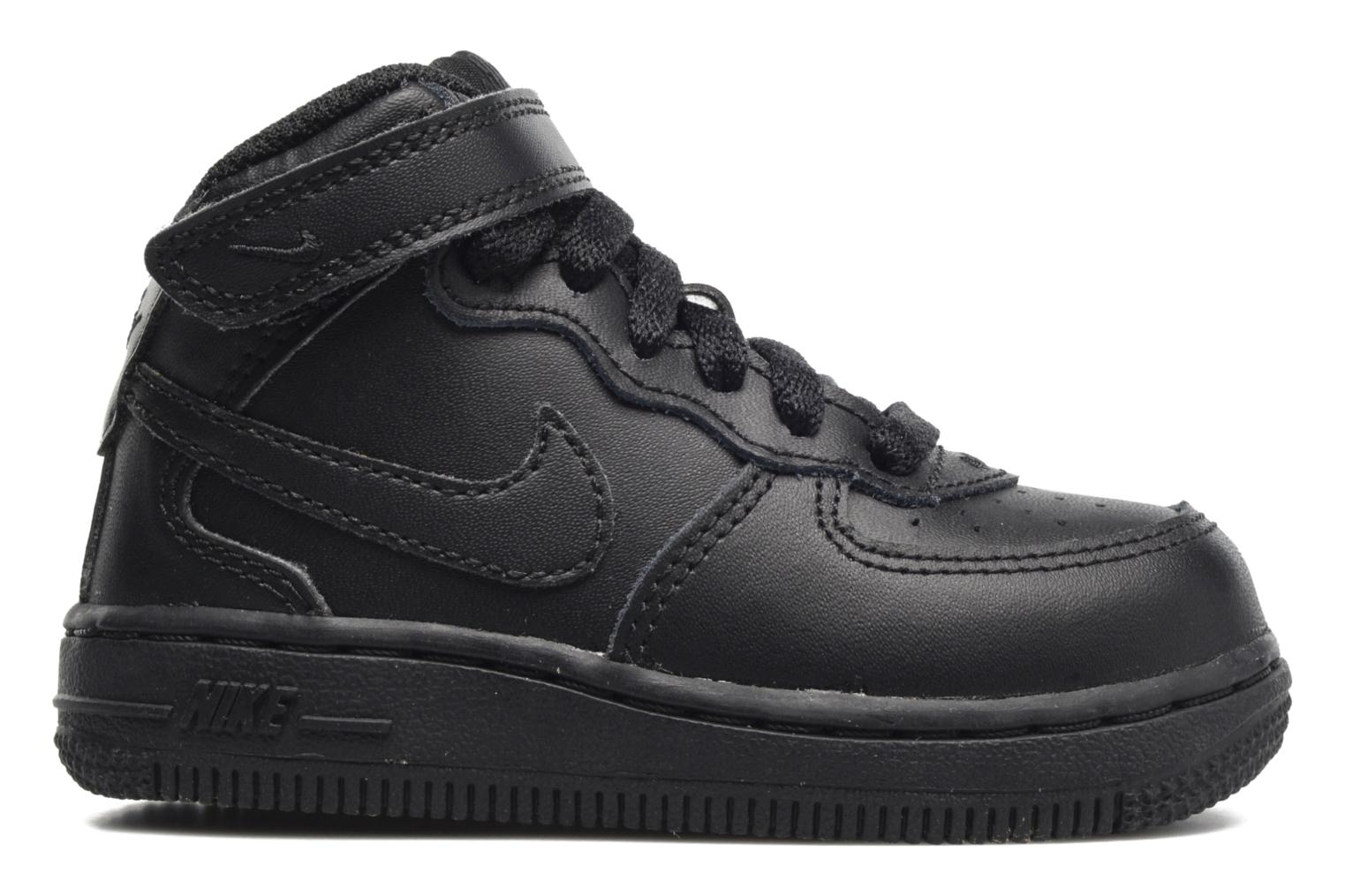 Trainers Nike Air Force 1 Mid (TD) Black back view