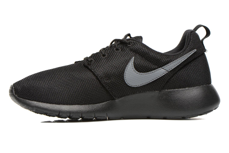 Sneakers Nike NIKE ROSHE ONE (GS) Nero immagine frontale
