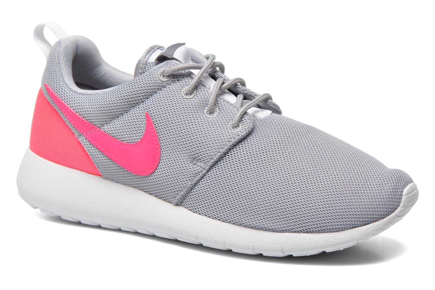 Baskets Nike NIKE ROSHE ONE (GS) Gris vue détail/paire