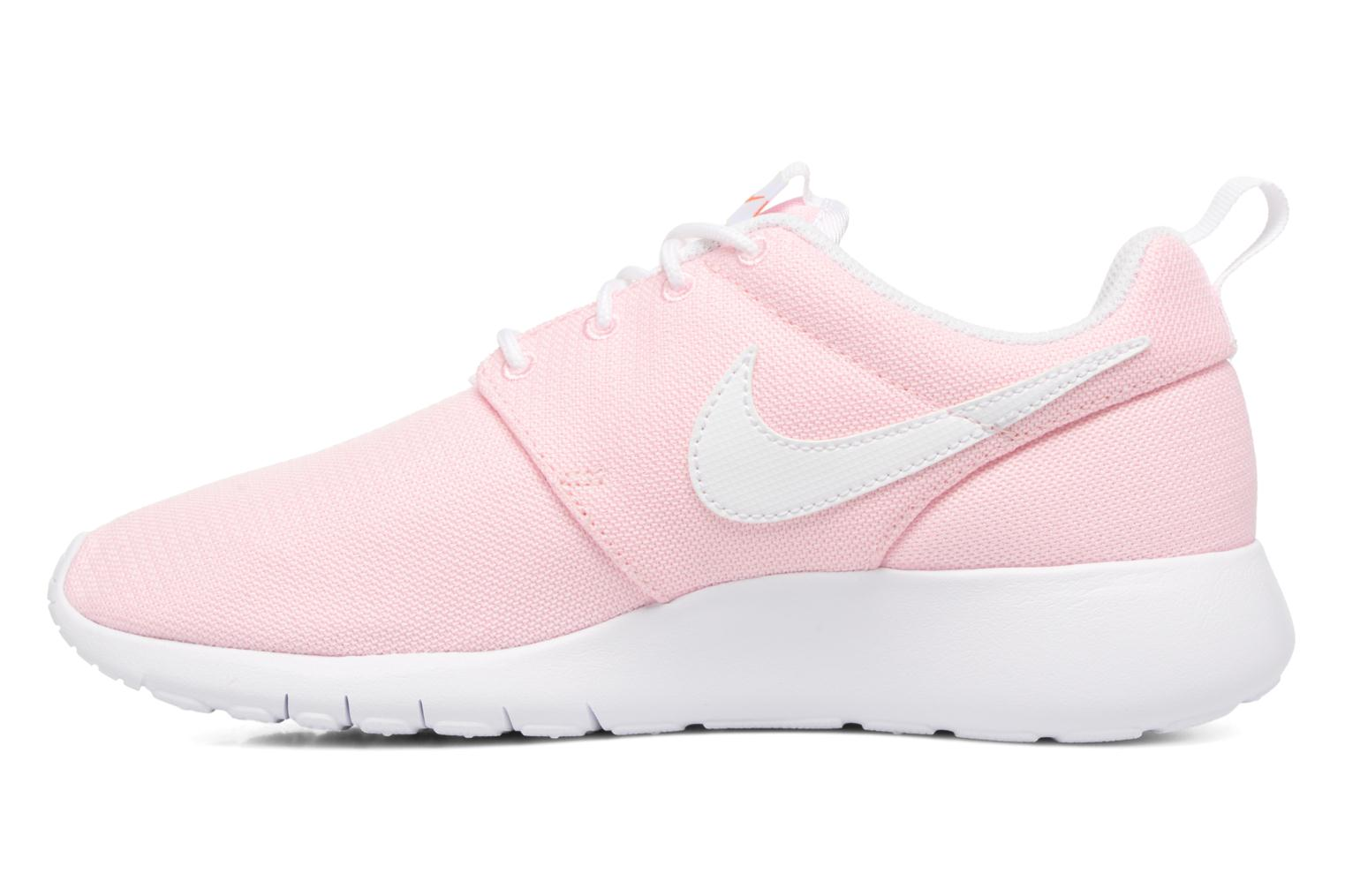 NIKE ROSHE ONE (GS) Prism Pink/White-Safety Orange