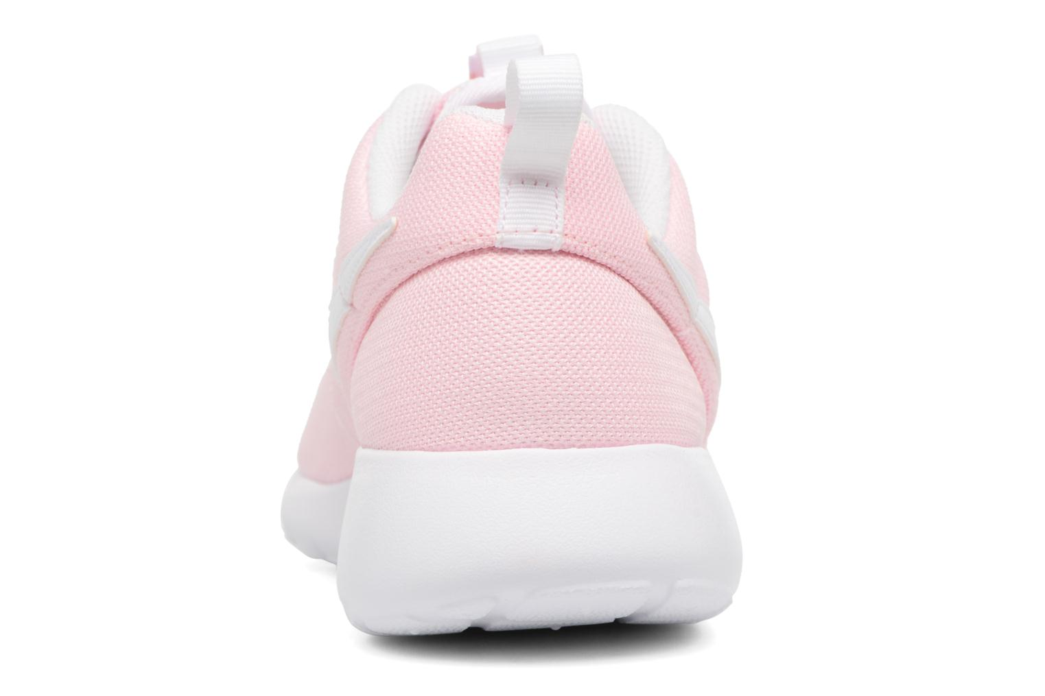 Trainers Nike NIKE ROSHE ONE (GS) Pink view from the right