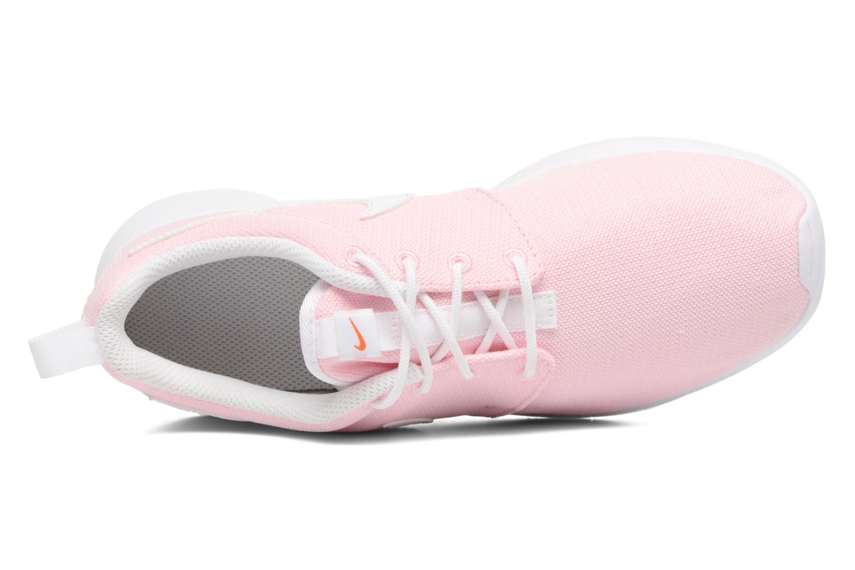 Sneakers Nike NIKE ROSHE ONE (GS) Rosa immagine sinistra