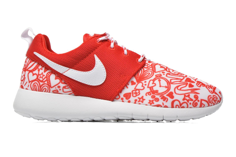 Baskets Nike NIKE ROSHE ONE PRINT (GS) Rouge vue derrière