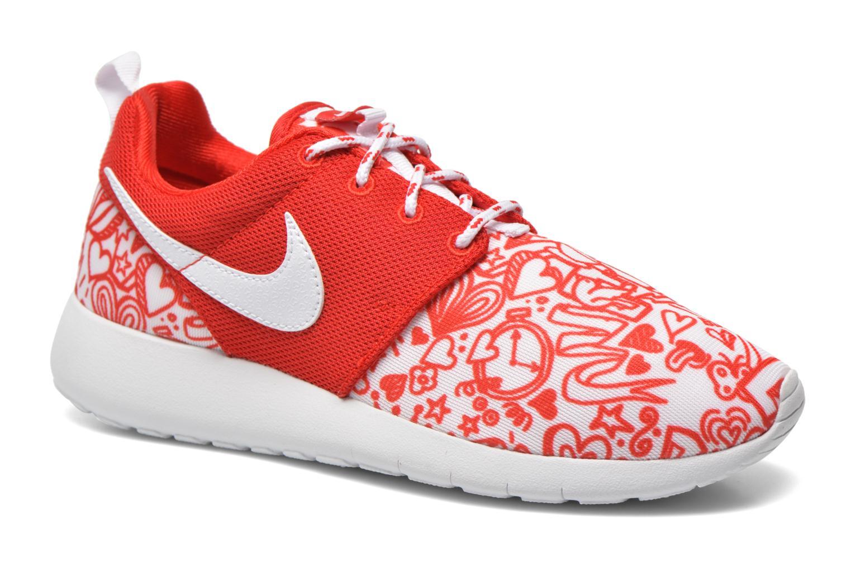 Sneaker Nike NIKE ROSHE ONE PRINT (GS) rot detaillierte ansicht/modell