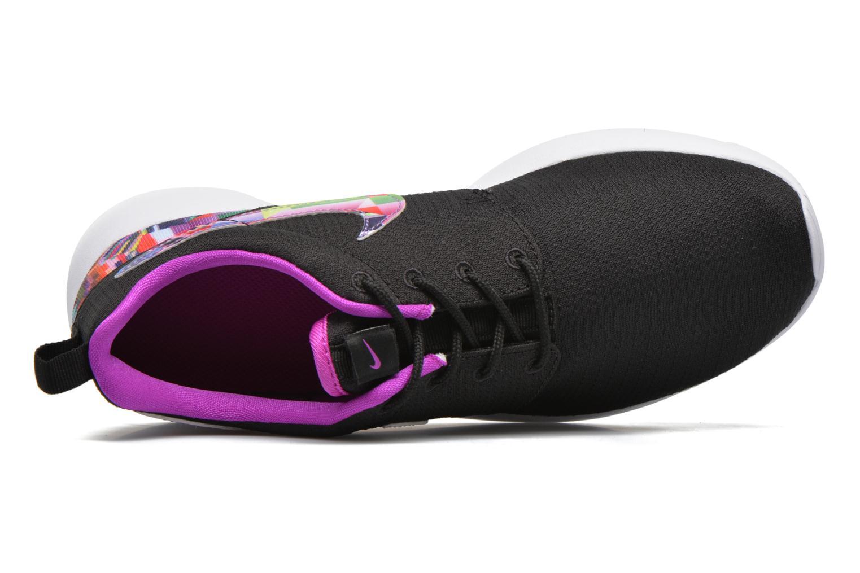 Baskets Nike NIKE ROSHE ONE PRINT (GS) Noir vue gauche