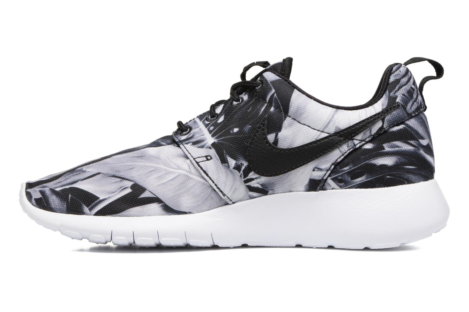 NIKE ROSHE ONE PRINT (GS) Wolf Grey/Black-Black-White