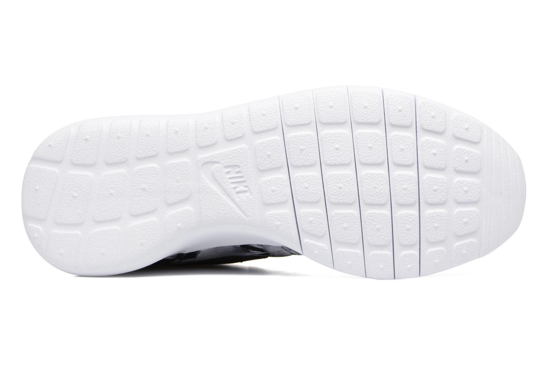 Sneaker Nike NIKE ROSHE ONE PRINT (GS) grau ansicht von oben