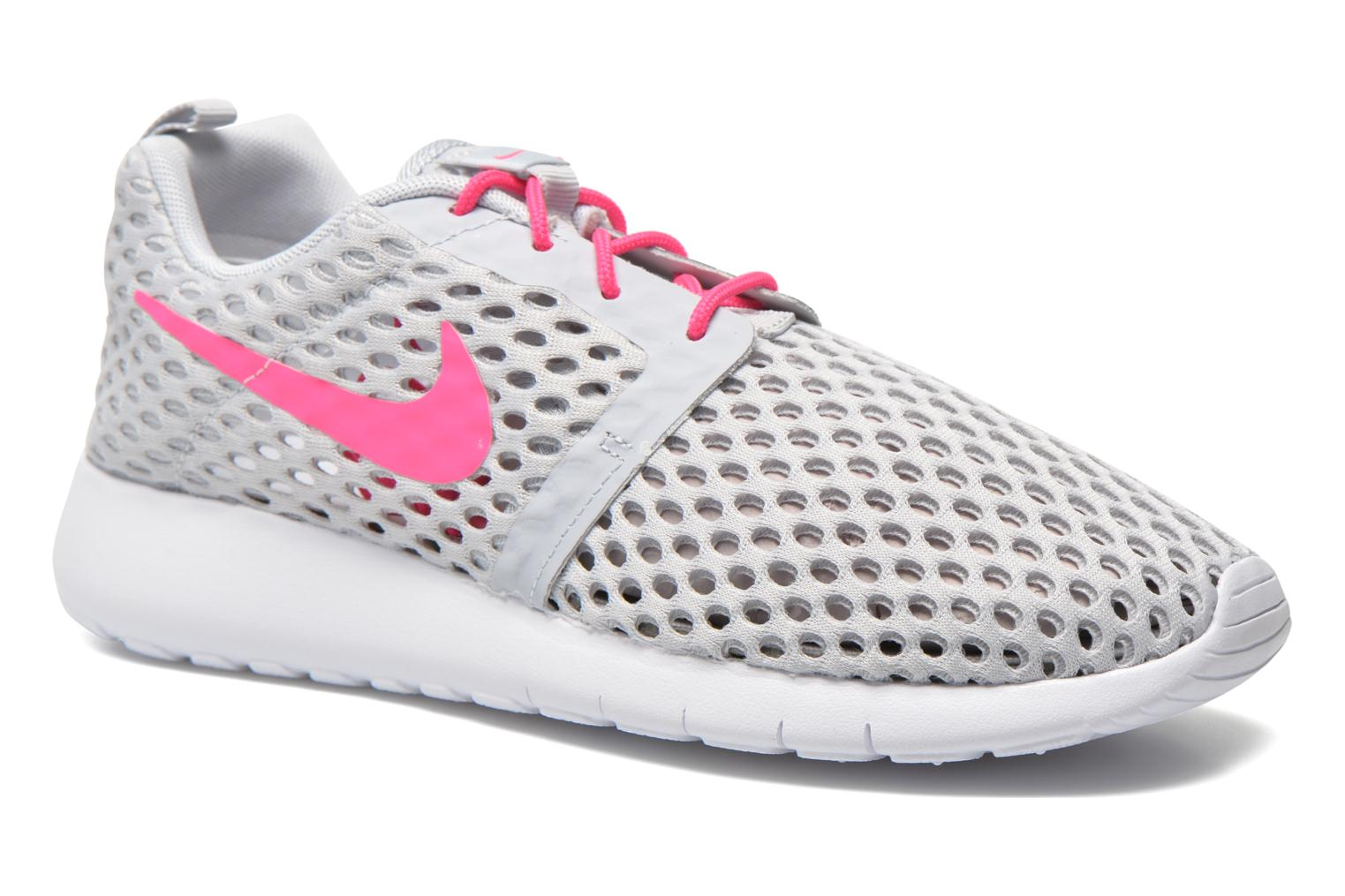 Baskets Nike ROSHE ONE FLIGHT WEIGHT (GS) Gris vue détail/paire