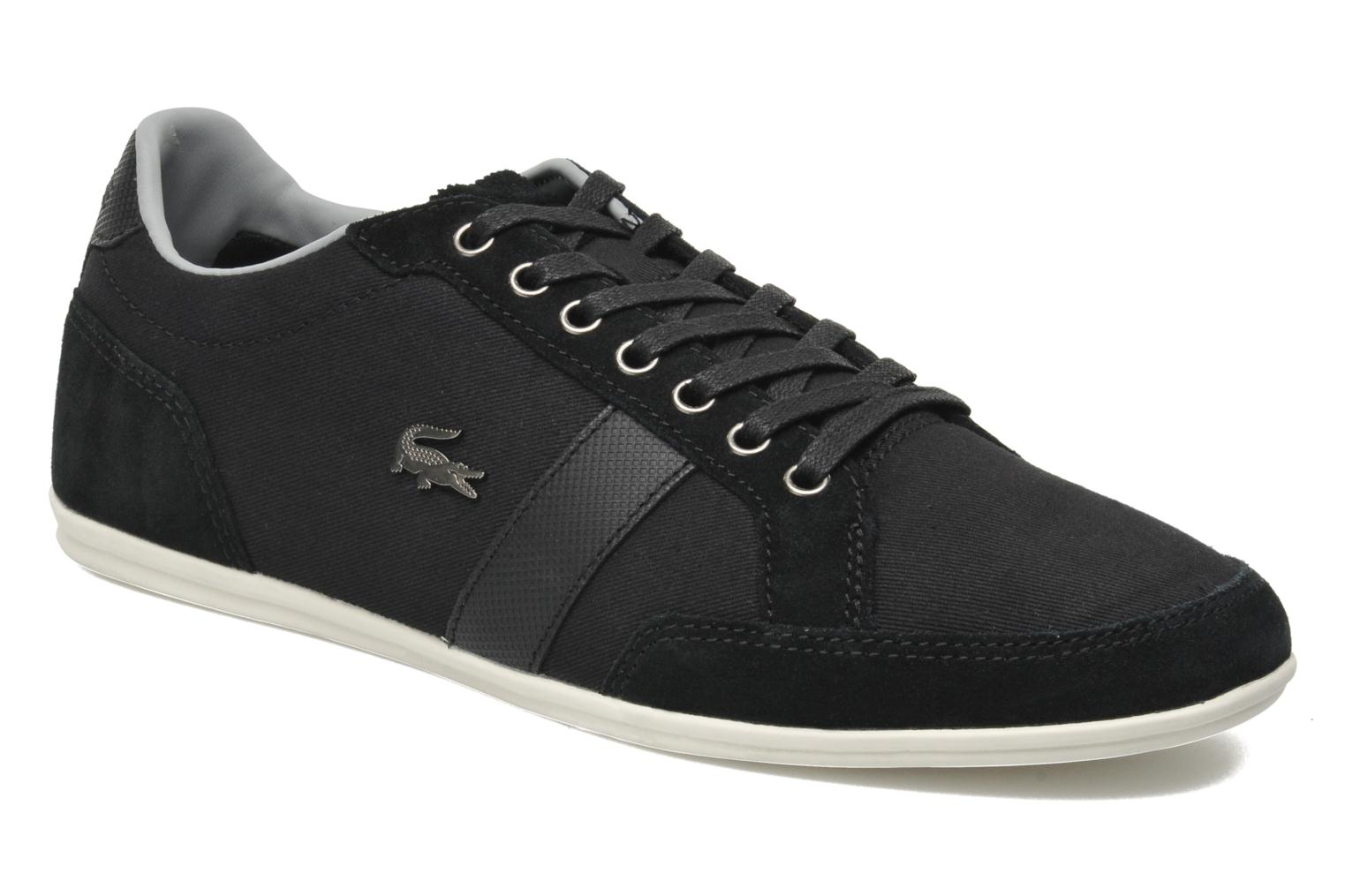 Trainers Lacoste Alisos 22 Black detailed view/ Pair view