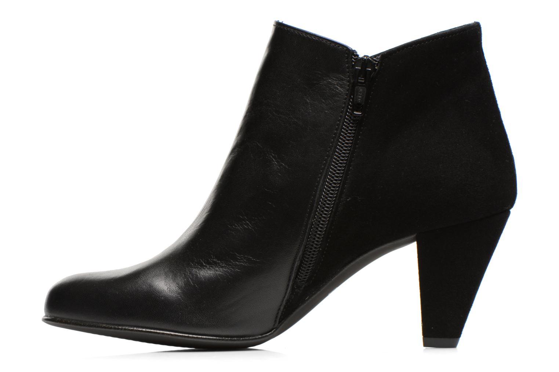 Bottines et boots Georgia Rose Loupet Noir vue face