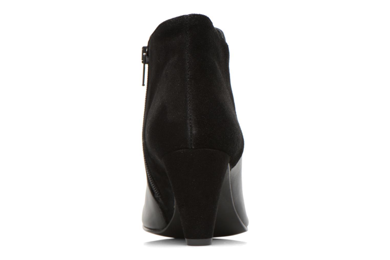Bottines et boots Georgia Rose Loupet Noir vue droite