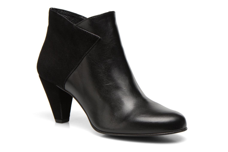 Bottines et boots Georgia Rose Loupet Noir vue détail/paire