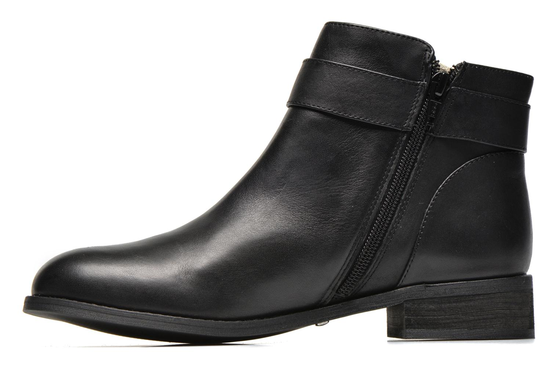 Bottines et boots Buffalo Befot Noir vue face