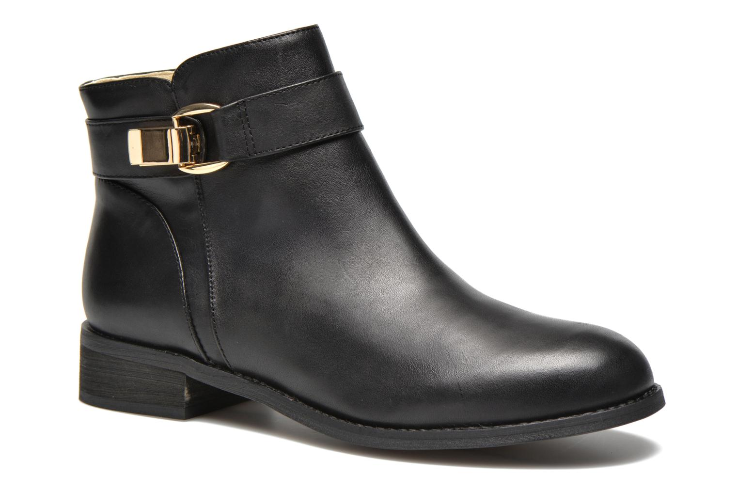Marques Chaussure femme Buffalo femme Befot Silk Leather Black 851