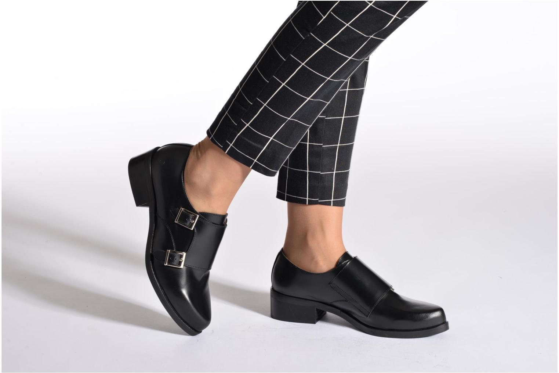 Mocassins Sixty Seven Tove Shoes Noir vue bas / vue portée sac