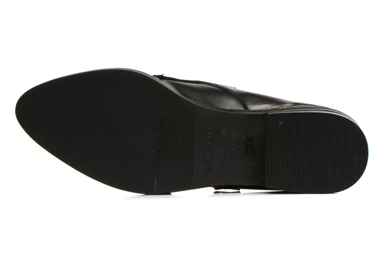 Mocassins Sixty Seven Tove Shoes Noir vue haut