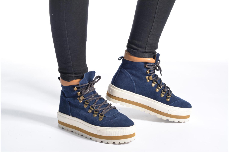Bottines et boots Sixty Seven Harvine Bleu vue bas / vue portée sac