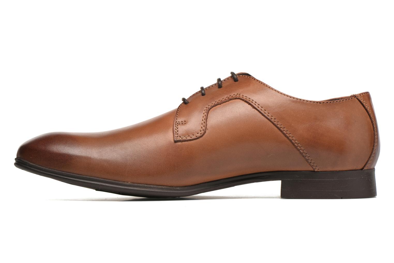 Chaussures à lacets Selected Homme Sel Latin Marron vue face