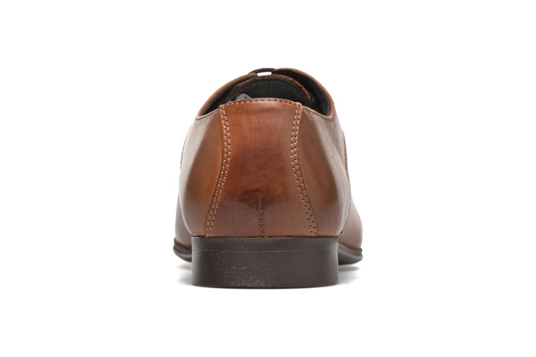 Chaussures à lacets Selected Homme Sel Latin Marron vue droite