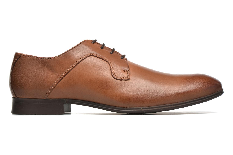 Chaussures à lacets Selected Homme Sel Latin Marron vue derrière