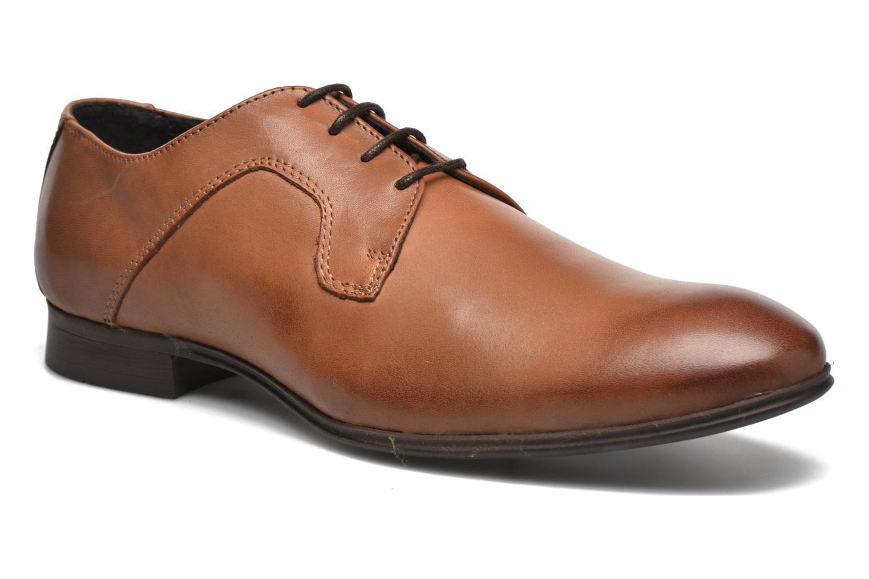 Chaussures à lacets Selected Homme Sel Latin Marron vue détail/paire