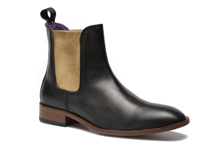 Boots en enkellaarsjes Anaki Laika Zwart detail