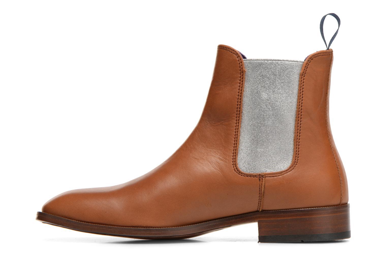 Bottines et boots Anaki Laika Marron vue face