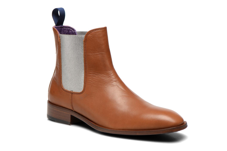 Bottines et boots Anaki Laika Marron vue détail/paire