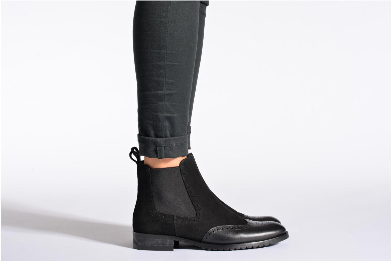 Bottines et boots Anaki Tierra Noir vue bas / vue portée sac