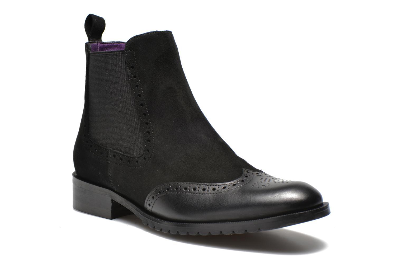 Bottines et boots Anaki Tierra Noir vue détail/paire