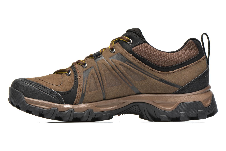 Chaussures de sport Salomon Evasion LTR Marron vue face