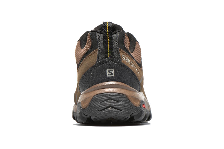 Chaussures de sport Salomon Evasion LTR Marron vue droite
