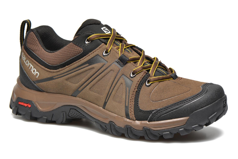 Chaussures de sport Salomon Evasion LTR Marron vue détail/paire