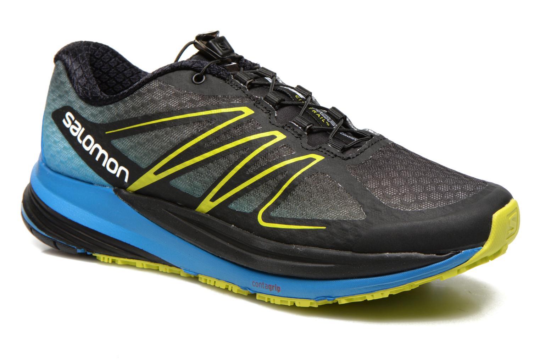 Chaussures de sport Salomon Sense Propulse Noir vue détail/paire