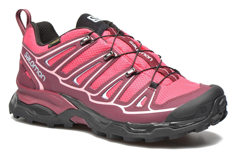 Zapatos rosas Salomon X para mujer kgj86