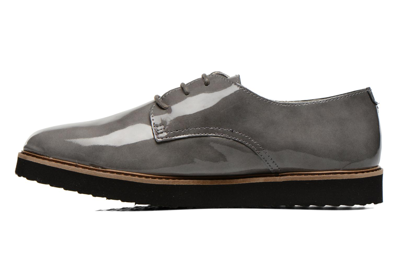 Chaussures à lacets Ippon Vintage James gloss Gris vue face