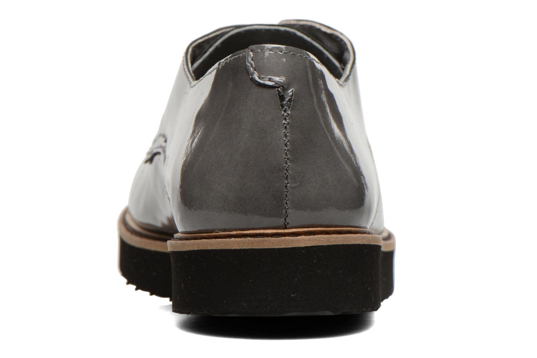 Chaussures à lacets Ippon Vintage James gloss Gris vue droite