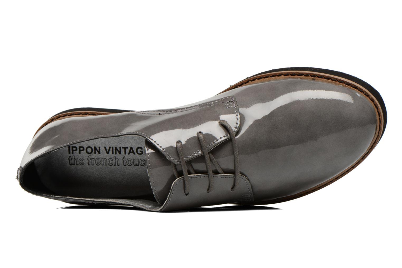 Chaussures à lacets Ippon Vintage James gloss Gris vue gauche